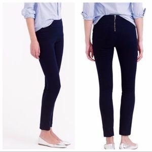 J. Crew Dannie Black Stretch Skinny Pants, size 4